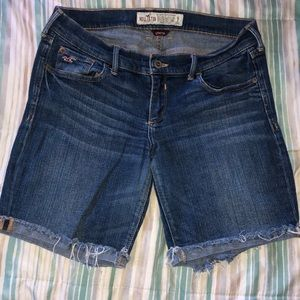 Hollister Denim Bermuda Shorts